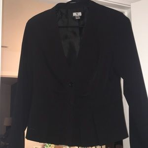 Black 3 button sport jacket